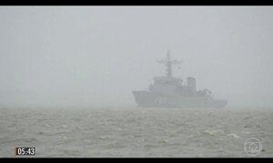 Equipes buscam por tripulantes de barco pesqueiro que desapareceu no litoral no RS