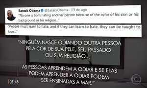 Mensagem de Mandela postada por Obama vira publicação mais curtida da história do Twitter