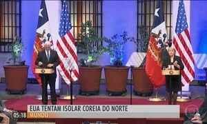 EUA pedem que países latino-americanos rompam relações diplomáticas com a Coreia do Norte