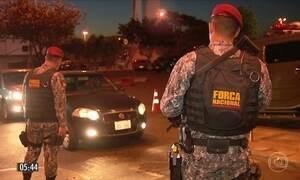 Força Nacional reforça a segurança na Ponte da Amizade