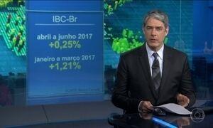 Economia cresce 0,25% no segundo trimestre em comparação com o primeiro