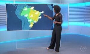 Confira a previsão do tempo para a sexta-feira (18) em todo o país