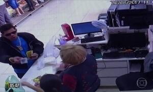 Homem atira em clientes que esperavam na fila do caixa de açougue no PR
