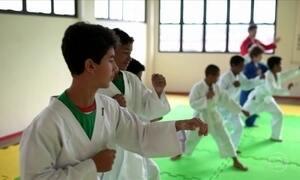 Projeto aplica técnica do nei kun em comunidade carente de Brasília