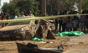 Menor atropela e mata duas mulheres e um bebê na cidade do Gama
