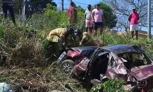 Dois acidentes em sequência deixam cinco mortos no RJ