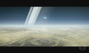 Sonda Cassini encerra missão de 13 anos e se desintegra na atmosfera de Saturno