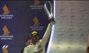 Lewis Hamilton vence o GP de Cingapura