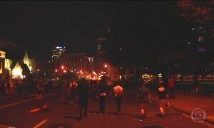 Mais de oitenta pessoas são presas durante manifestações em Saint Louis, Missouri