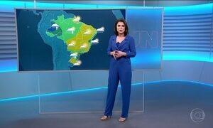 Domingo (24) vai ser abafado em parte do Brasil