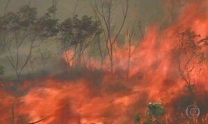 Cidade decreta emergência por causa de incêndio na Serra da Bocaina