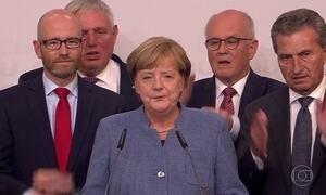 Angela Merkel é reeleita primeira-ministra na Alemanha