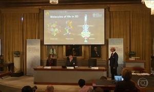 Trio de cientistas leva Prêmio Nobel de química pelo estudo das moléculas