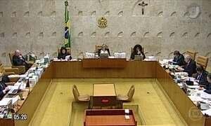Ministros do STF votam sobre casos de afastamento de parlamentares do mandato