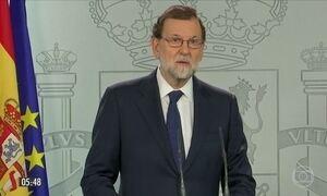 Governo da Espanha marca reunião que pode definir início de intervenção na Catalunha