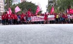 Protestos cobram soluções para famílias que não têm moradia