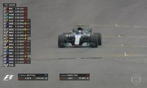 Autódromo de Interlagos recebe treino classificatório da Fórmula 1