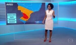 Veja a previsão do tempo para esta sexta-feira (17) em todo o Brasil