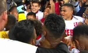 Seleção peruana conquista última vaga na Copa da Rússia