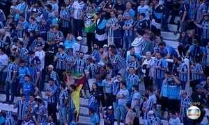Grêmio disputa a final da Taça Libertadores em jogo na Argentina