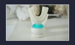 Escova automática limpa os dentes em dez segundos