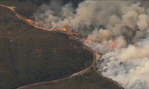 Confirmada primeira morte relacionada à série de incêndios no sul da Califórnia