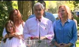 Ex-presidente Sebastián Piñera vence segundo turno das eleições no Chile