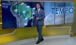 Final de semana é de sol com pancadas de chuva no litoral do Brasil