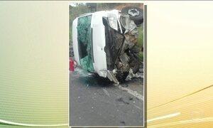 Acidente em rodovia deixa sete mortos no interior de MG