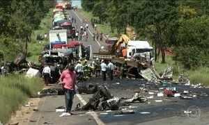 Sete pessoas ainda estão internadas depois do acidente em MG