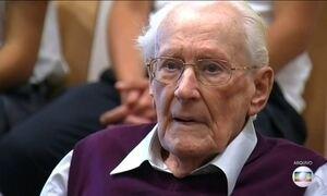 Justiça nega clemência pedida pela defesa do ex-nazista Oskar Gröning
