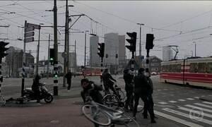Pelo menos duas pessoas morrem por causa de tempestade na Holanda