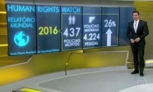 Relatório diz que policiais mataram mais de 4 mil pessoas no Brasil em 2016