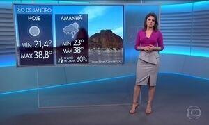 Previsão é de mais calor para o Rio e SP nesta sexta (19)
