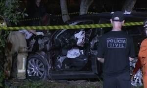Problema de saúde de motorista pode ter causado acidente grave em Brasília