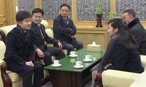 Delegação da Coreia do Norte vai à Coreia do Sul pela primeira vez em quatro anos