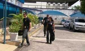 A Polícia Federal realiza operação para combater o desvio de dinheiro no Maranhão