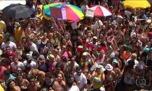 Blocos fazem a alegria dos foliões pelas ruas do Brasil