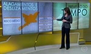 Previsão é de mais chuva no Rio de Janeiro
