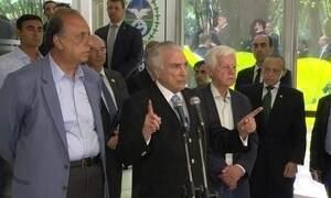 Temer se reúne com governantes do Rio para acertar detalhes da intervenção federal