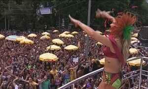 São Paulo se despede do carnaval com arrastão de trios nas ruas