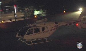 Veja no JN: Lula vai de helicóptero para o Aeroporto de Congonhas