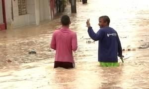 Temporal provoca estragos na Região Metropolitana de Maceió neste domingo (22)