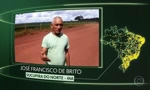 Sucupira do N., Itambé do Mato Dentro, Palotina, Anísio de Abreu, Mocajuba, Guarani de GO