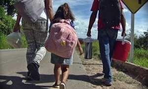 Profissão Repórter acompanha família em uma jornada de 5 mil km até São Paulo