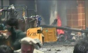 Estado Islâmico assume ataques a prédio do governo no Afeganistão
