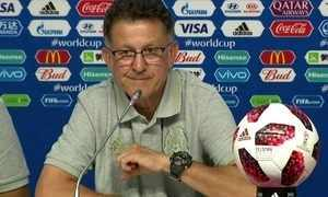 Técnico Juan Carlos Osorio diz que o México vai partir para cima do Brasil