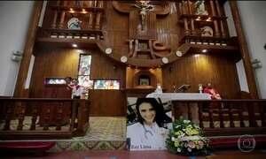 Missa na Nicarágua homenageia brasileira assassinada por paramilitares