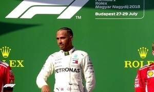 Fórmula 1:Hamilton vence na Hungria e aumenta vantagem para Vettel no campeonato