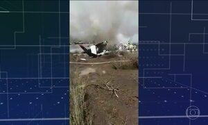 Avião cai no Norte do México e 101 sobrevivem; 85 se feriram